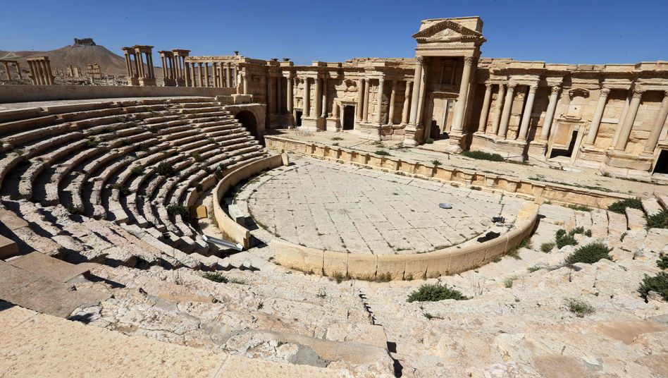Römisches Theater in Palmyra