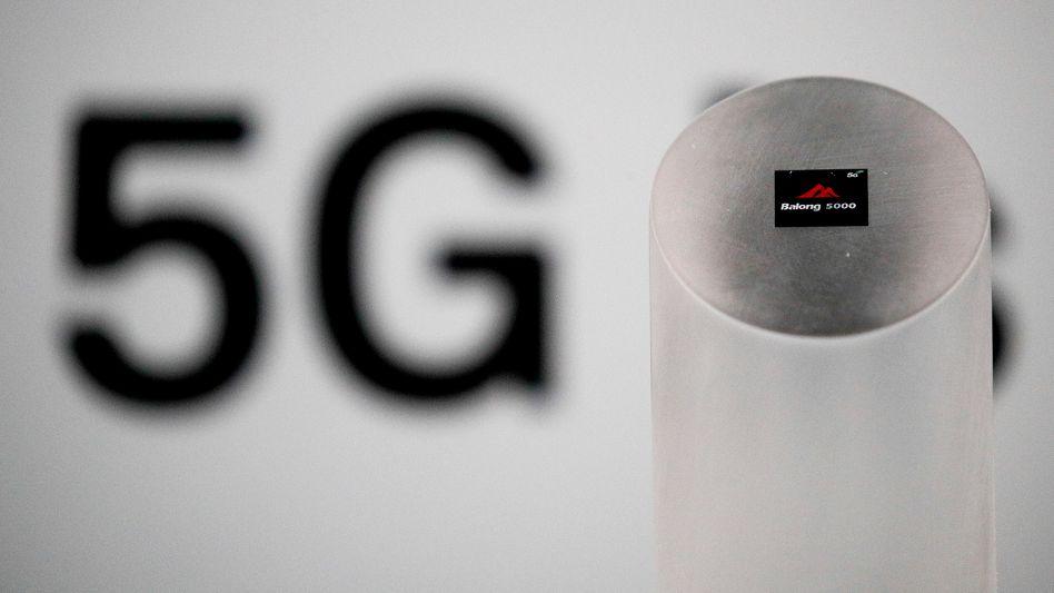 5G-Schriftzug