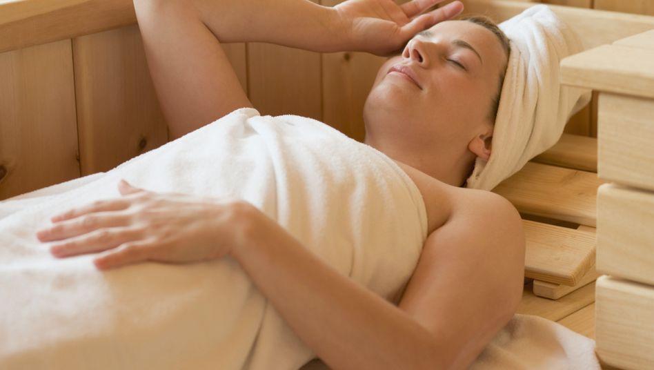Sauna: Die Hitze wirkt auf den Körper wie ein moderates Sportprogramm