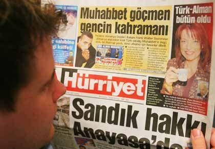 Gabriele Pauli in der türkischen Zeitung Hürriyet