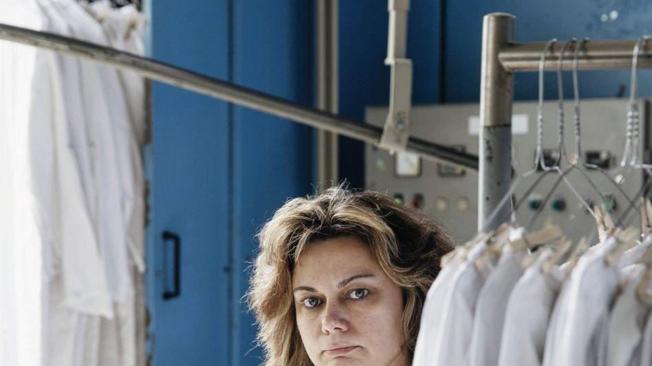 Wäscherei-Geschäftsführerin Horka