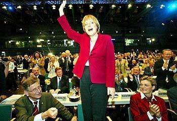 Unauffällige Kostumträgerin Merkel: Noch besser als am besten