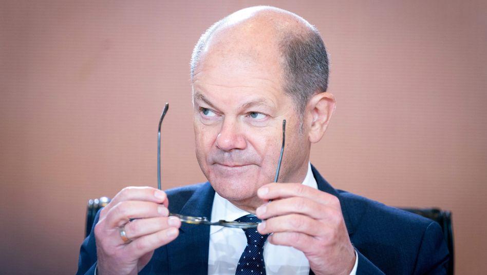 Finanzminister Scholz: Erhöhung um acht Millionen Euro gegenüber dem Haushaltsentwurf
