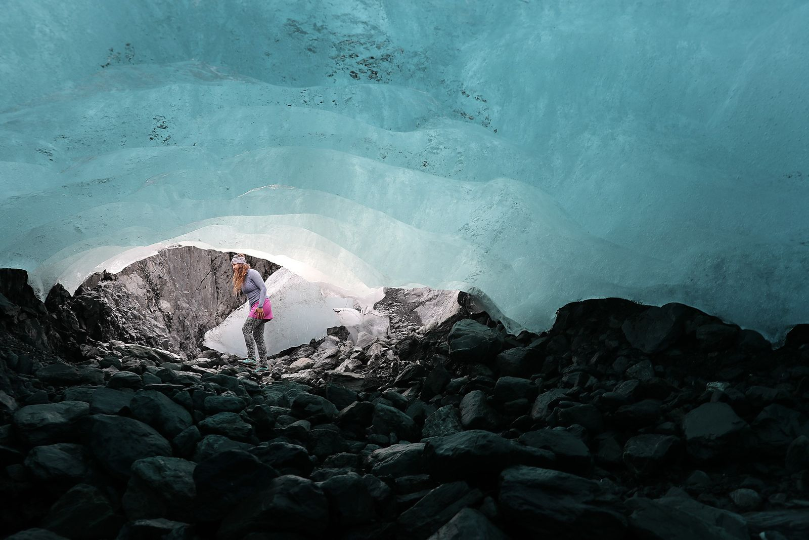 US-SCIENTISTS-STUDY-ICE-MELT-ON-THE-WOLVERINE-GLACIER-IN-ALASKA