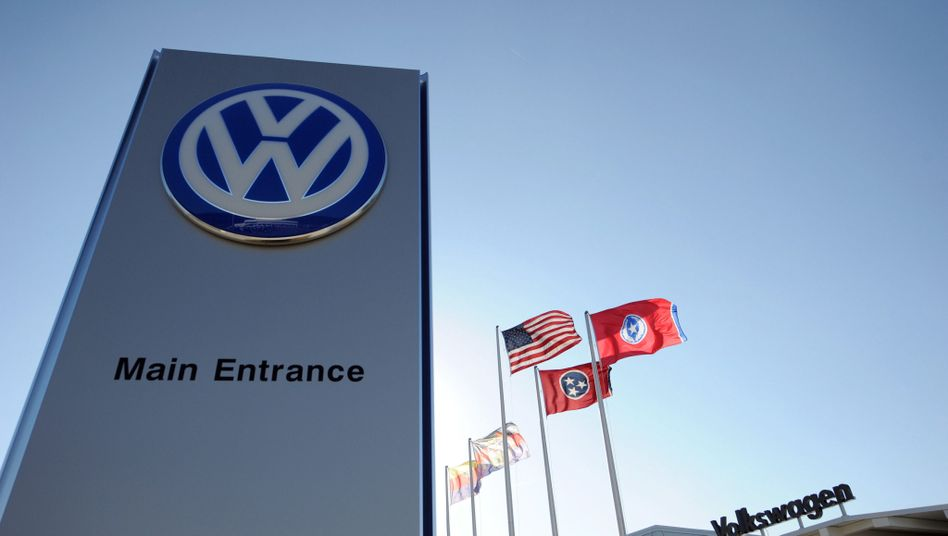The Volkswagen plant in Chattanooga, Tennessee.