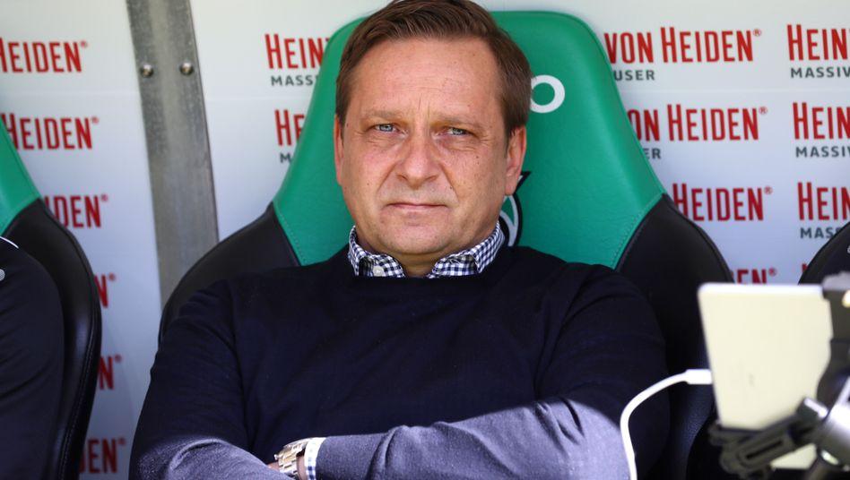 Horst Heldt hatte im März 2017 den Job bei Hannover 96 übernommen