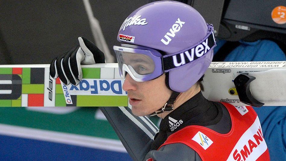 Skispringer Schmitt: Weltcup-Pause bis zur Vierschanzentournee