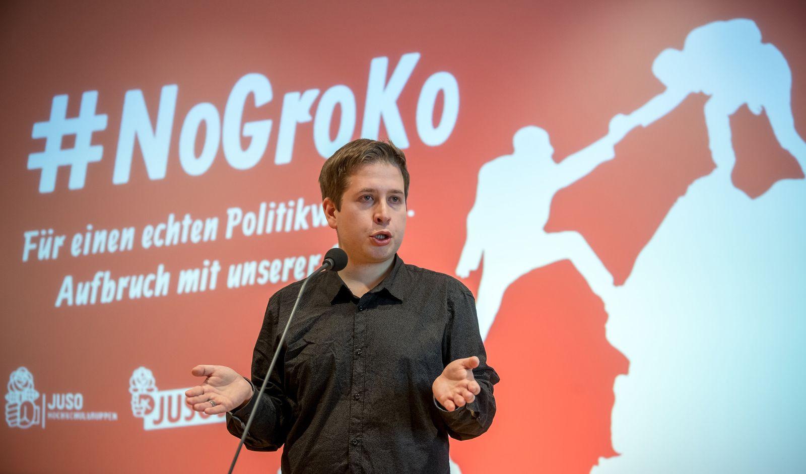 junge Politiker/ Kevin Kühnert