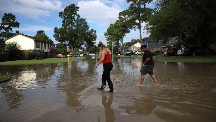 """Houston nach Hurrikan """"Harvey"""": Die zerstörte Stadt"""