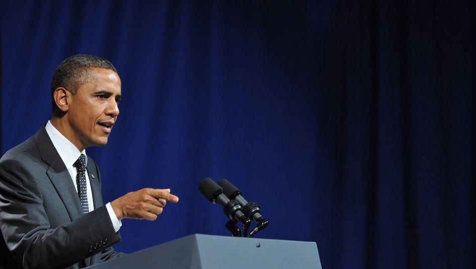 """US-Präsident Obama: """"Nie umfassend auf die Herausforderungen reagiert"""""""