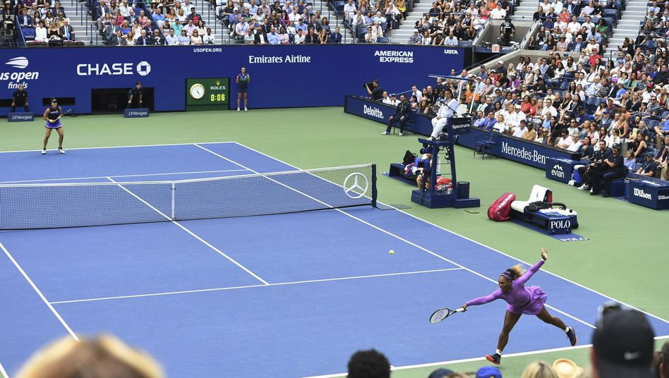 Bianca Andreescu war zu stark für Serena Williams