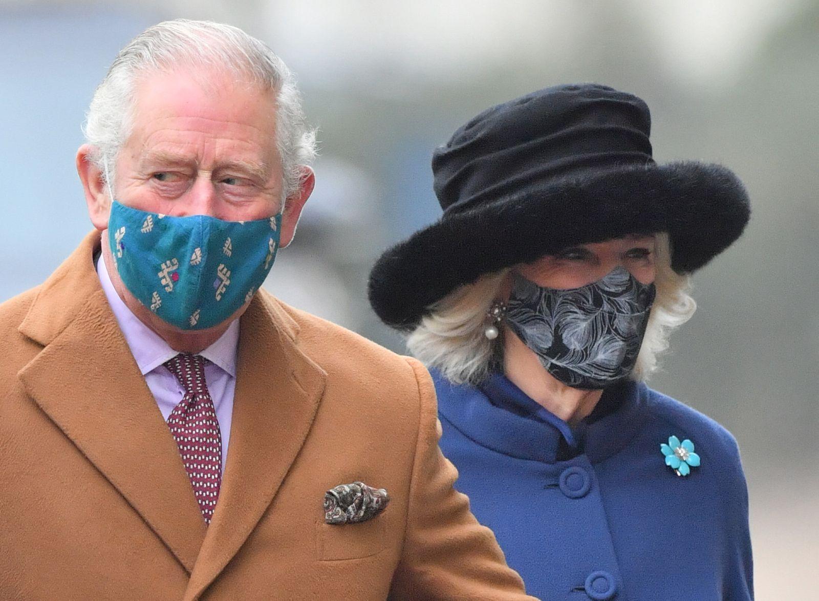 Charles und Camilla haben sich gegen Corona impfen lassen