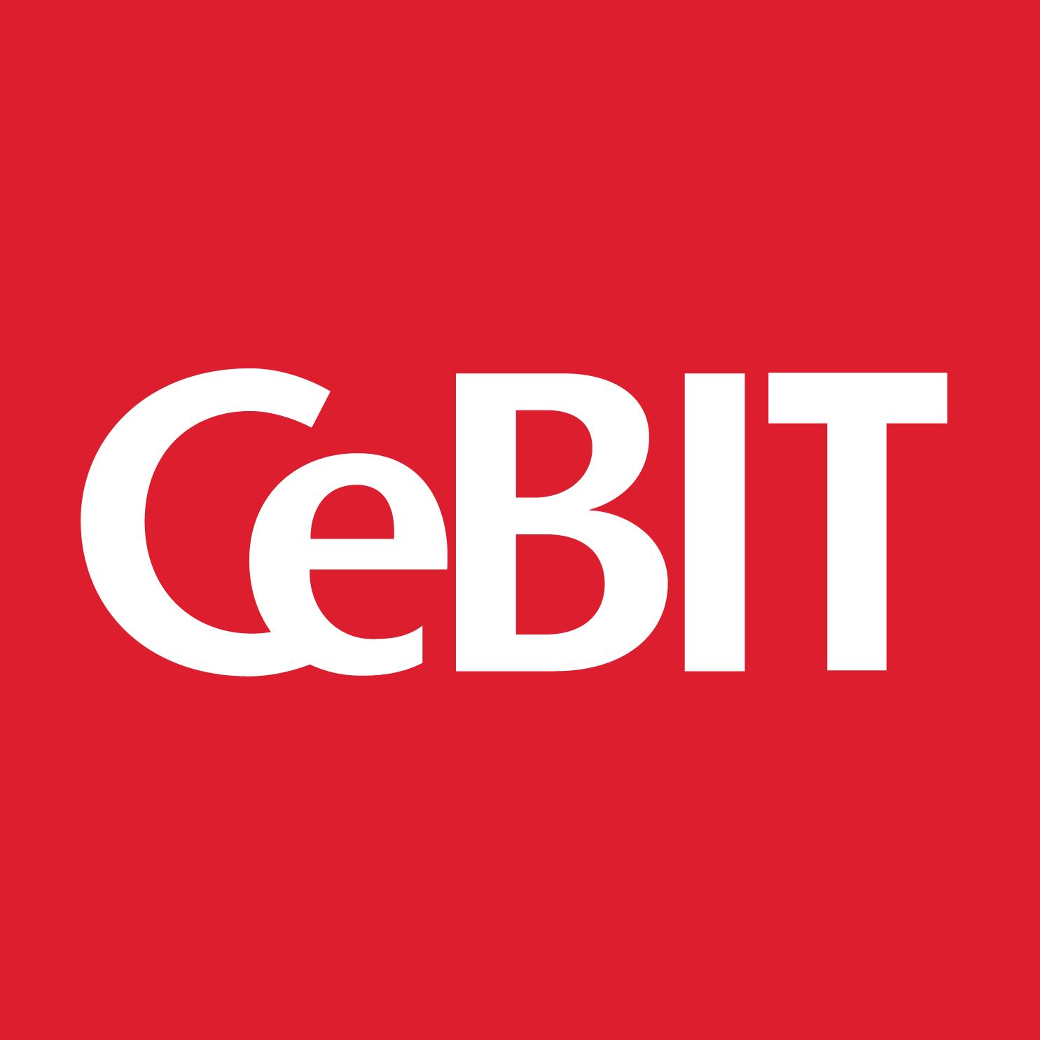 EINMALIGE VERWENDUNG CeBit/ Logo