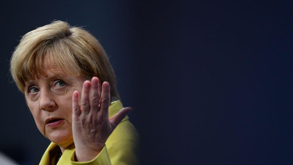 """Angela Merkel in Berlin: """"Nicht durch die Parteibrille gefärbt"""""""