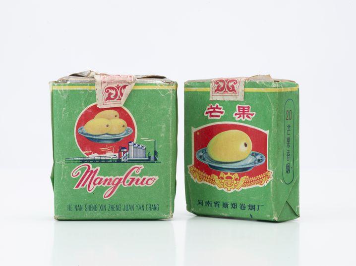 Mangozigaretten: In China um 1968 beliebt