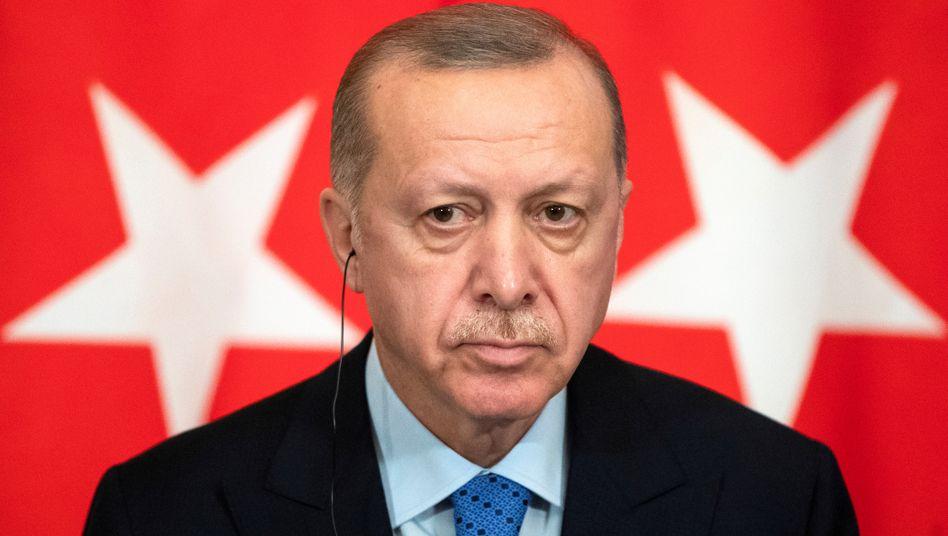 Migranten an der Grenze: Erdogan vergleicht Vorgehen der Griechen mit Nazi-Methoden