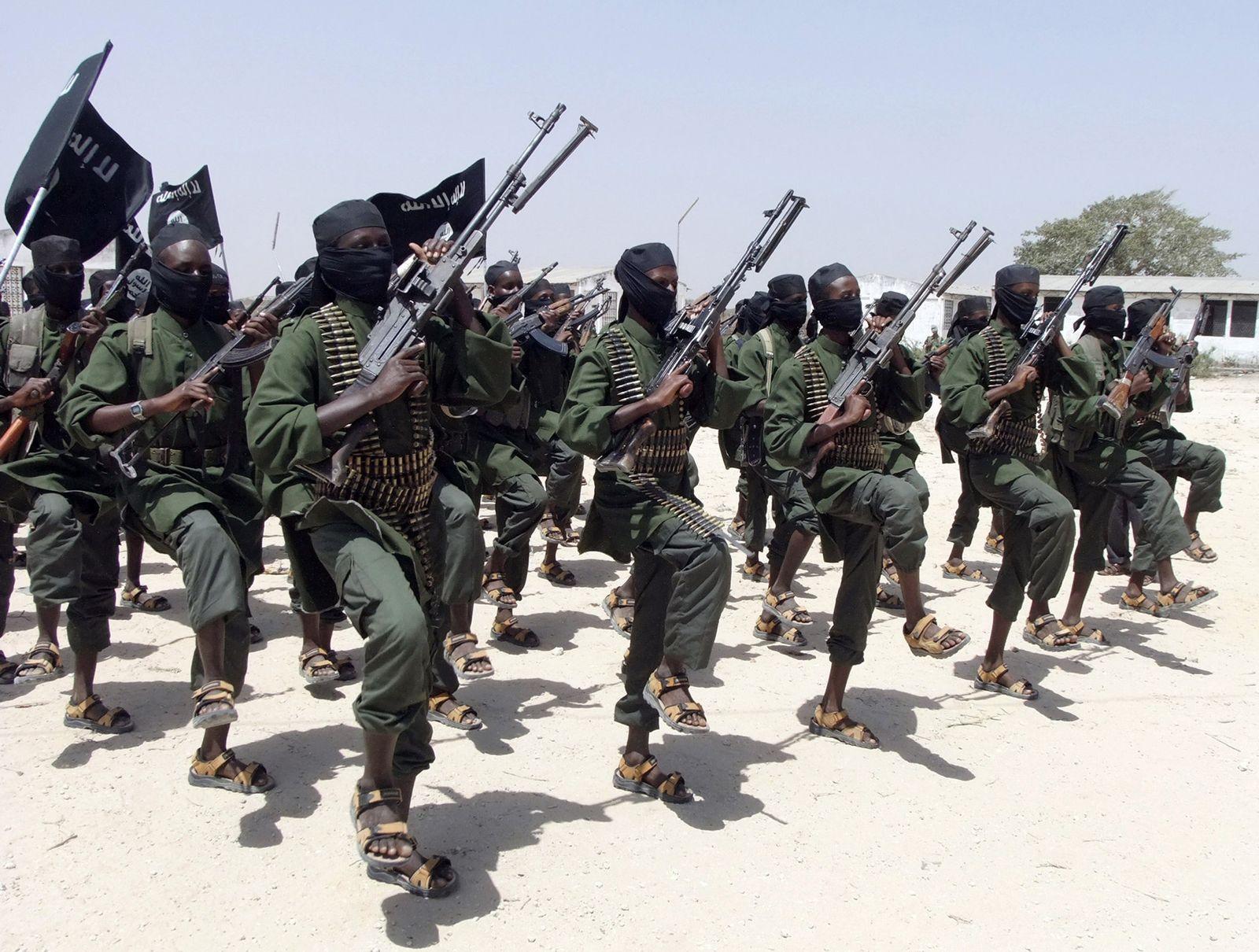 Somalia/ Schabab-Miliz