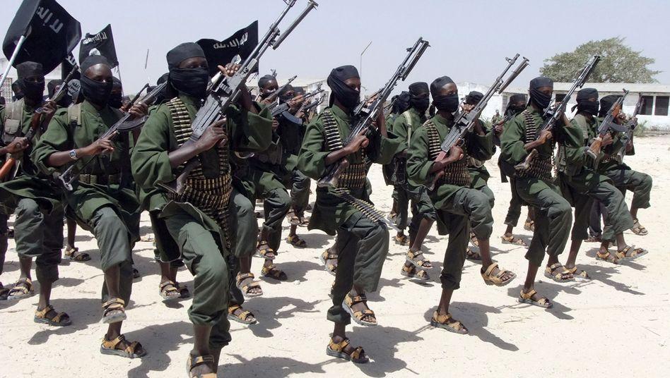 Schabab-Miliz in Somalia (Archivbild): Angst vor ausländischen Spionen