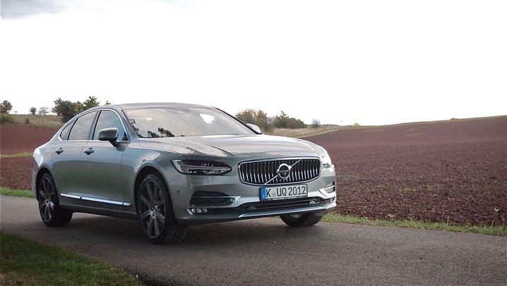 Fahrbericht Volvo S90: Der große Klare