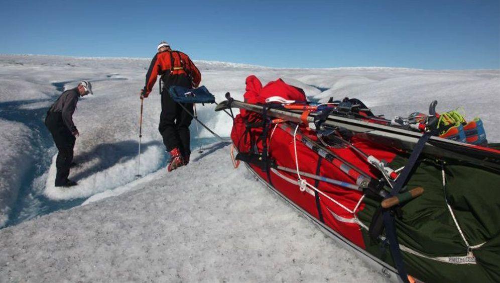 Extremtour durch Grönland: Die schwierigsten Passagen