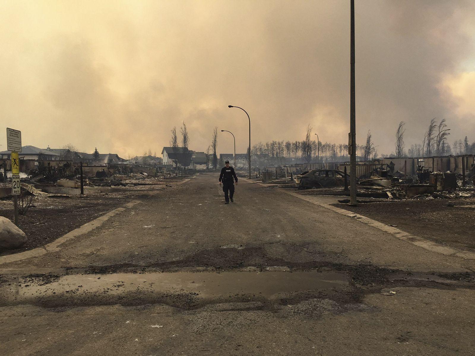 Alberta / Kanada / Waldbrände
