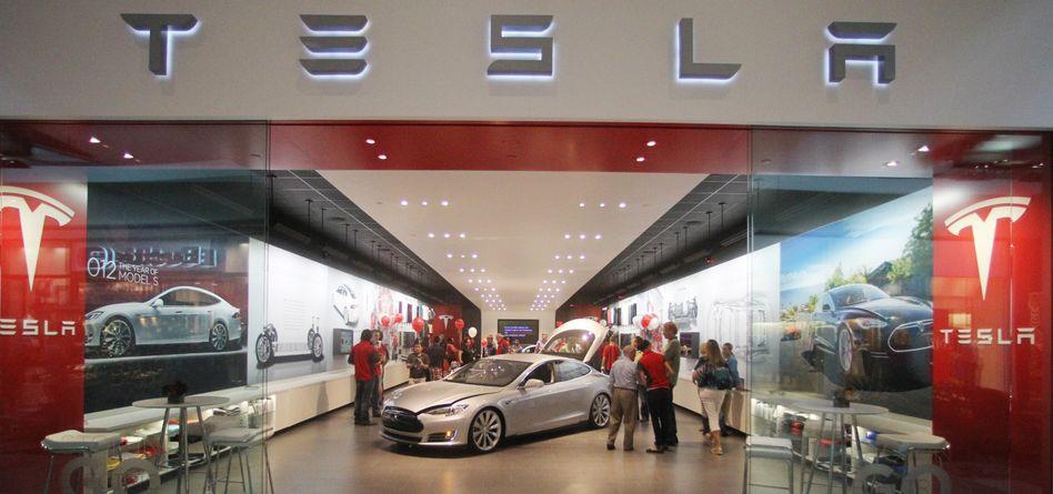 Tesla-Showroom (Archiv)