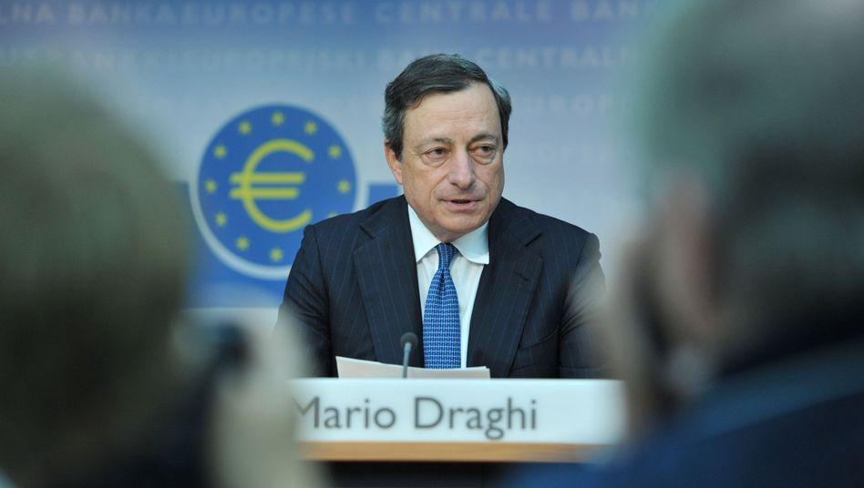 Mario Draghi, Präsident der Europäischen Zentralbank (2012): Ganz normal