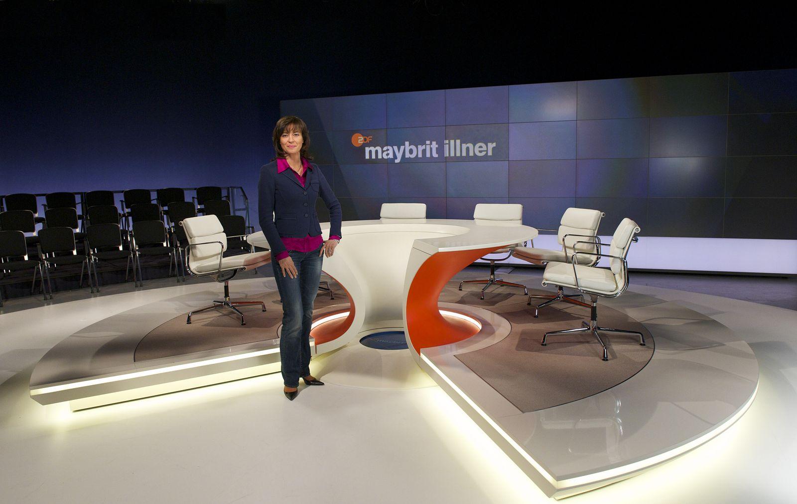 EINMALIGE VERWENDUNG Maybrit Illner