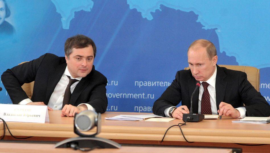 Ukraine-Berater Wladislaw Surkow: Der langsame Abgang von Putins Strippenzieher