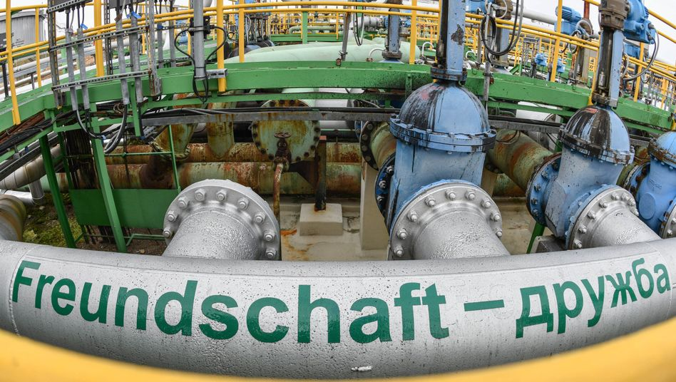 """Freundschaft - Druschba"": Erdölleitung in Schwedt"