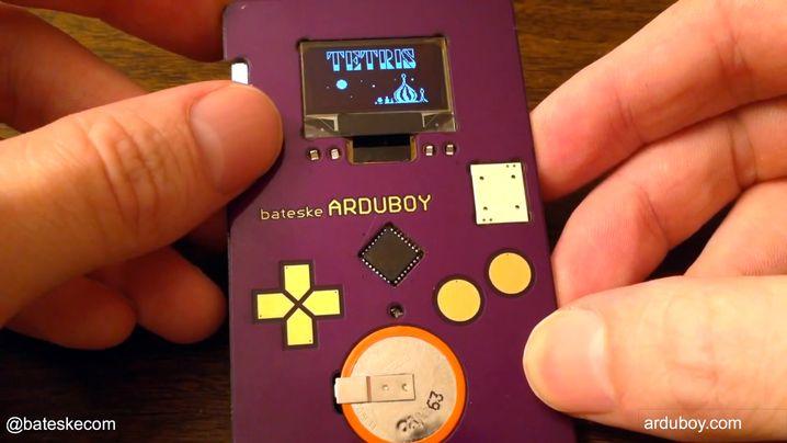 Arduboy: Ein Mini-Spielzeug fürs Portemonnaie