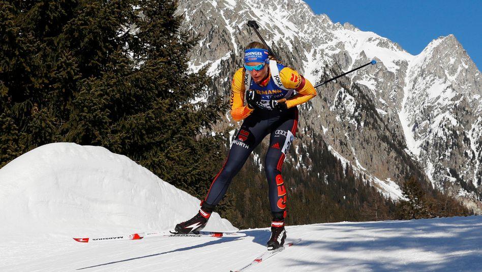Deutsches Team bei der Biathlon-WM: Verkehrte Welt