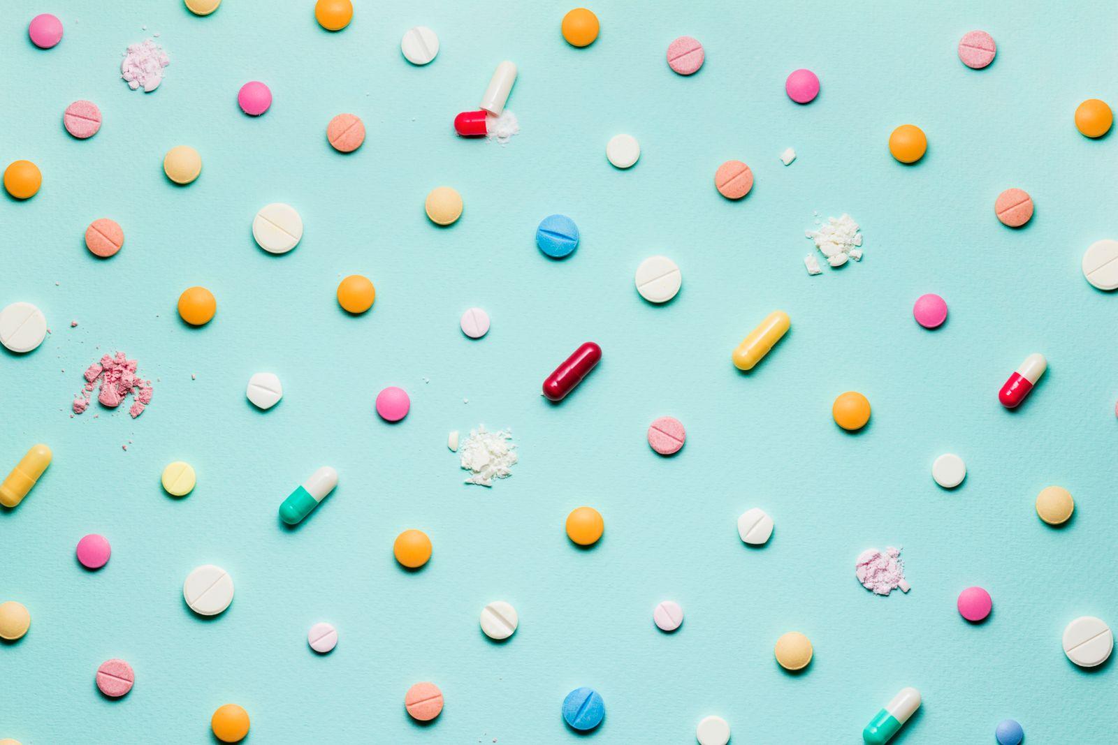 Pretty pills.