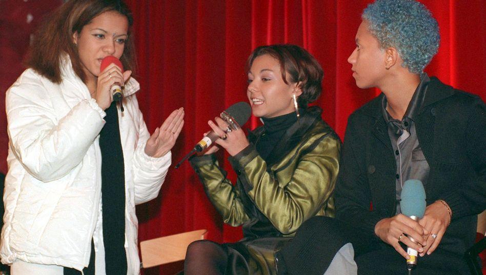 Zweites Comeback in mehr als 20 Jahren? Ricky (v.l.), Jazzy und Lee von Tic Tac Toe (Foto von 1997)