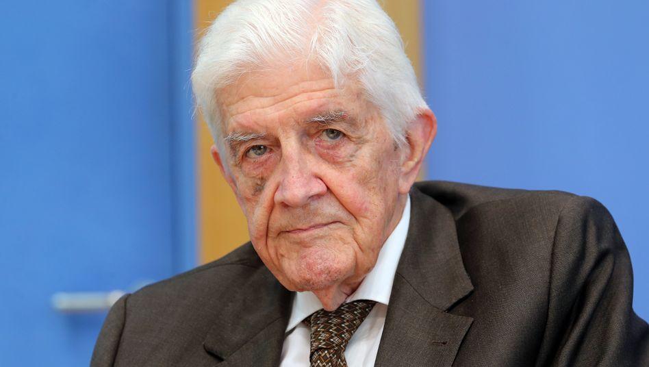 Burkhard Hirsch im August 2018