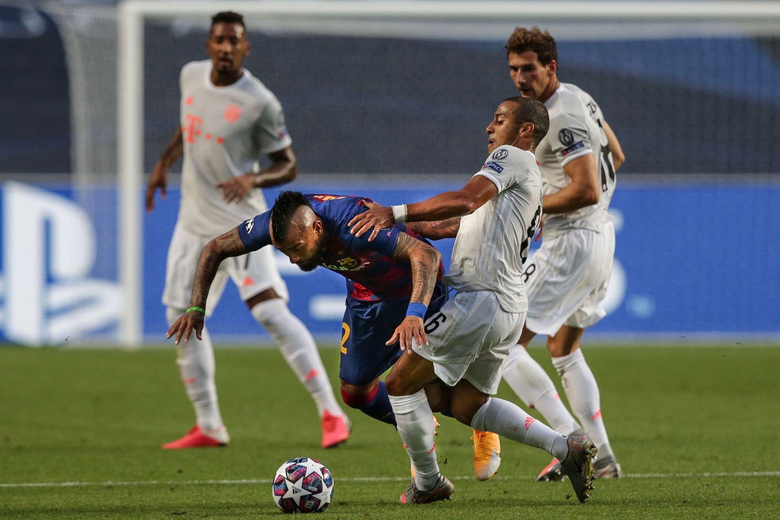 FC Barcelona vs Bayern Munich, Lisbon, Portugal - 14 Aug 2020