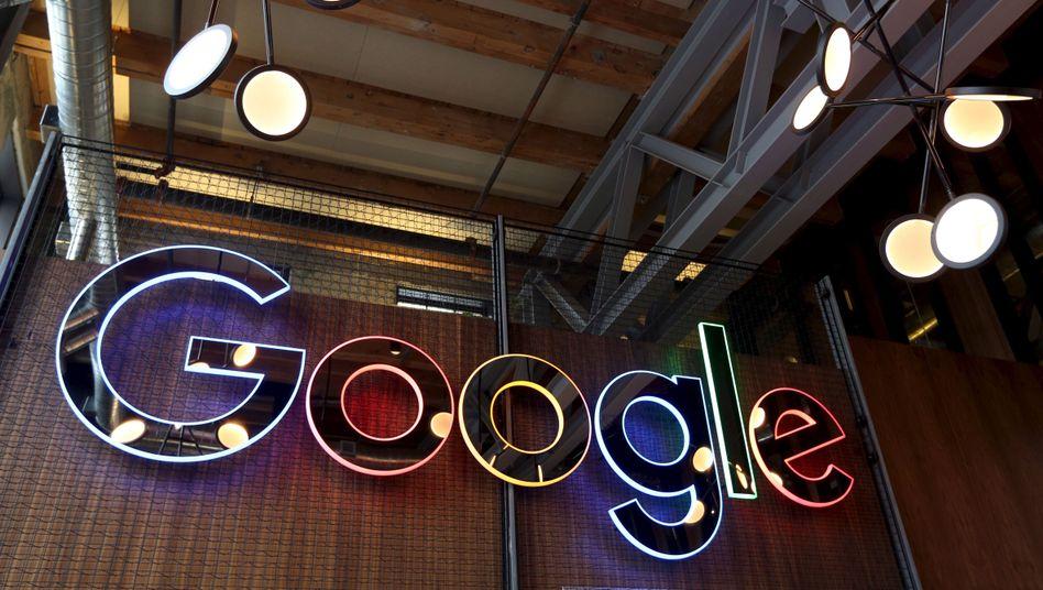 Googles Logo in einer Konzern-Dependance