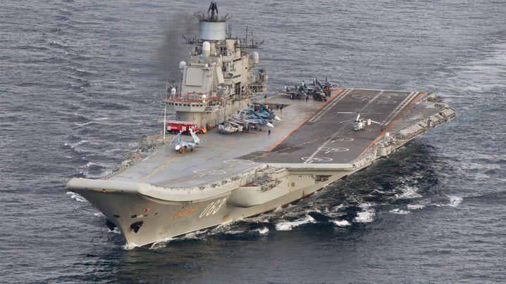 """""""Admiral Kusnezow"""": Russlands Pannen-Flugzeugträger"""