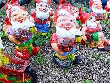 Gartenzwerge: Das Markenzeichen der deutschen Vorgartenidylle kommt aus Gräfenroda