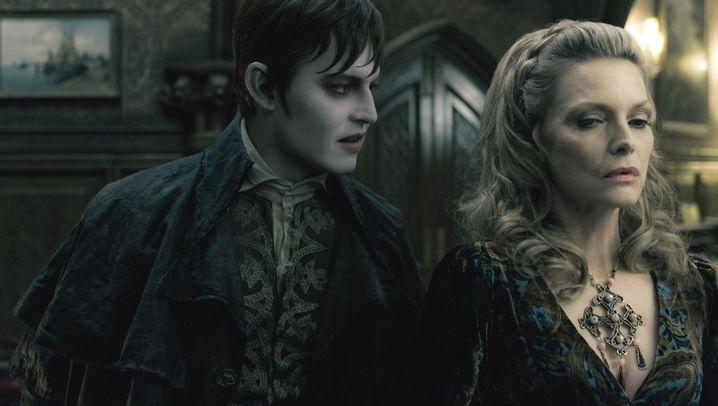 """Kinovergnügen """"Dark Shadows"""": Besuch vom bleichen Mann"""