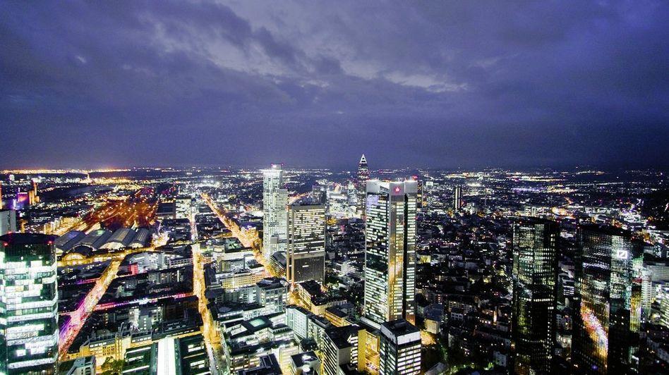 Finanzmetropole Frankfurt am Main: »Die Commerzbank ist das Fieberthermometer der Euro-Krise«