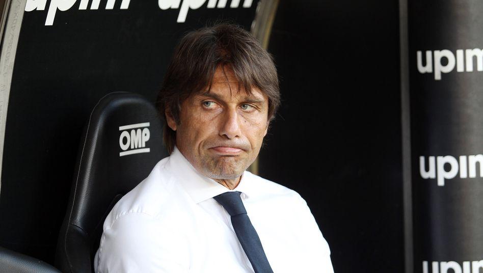 Antonio Conte hat schlechte Laune