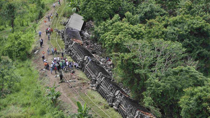 Mexiko: Blinde Passagiere sterben bei Zugunglück