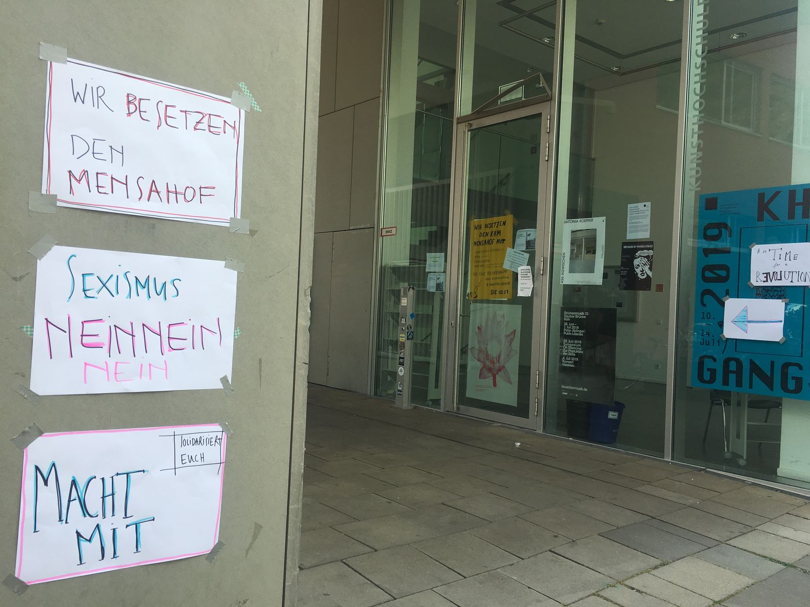 EINMALIGE VERWENDUNG Kunsthochschule für Medien Köln