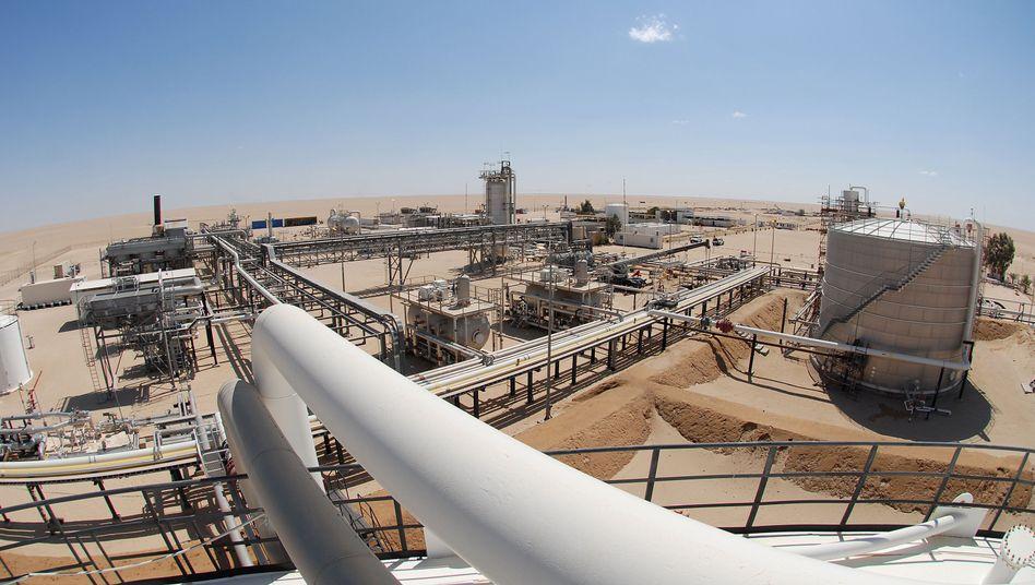 Wintershall-Anlage in Libyen: Zwei Milliarden investiert