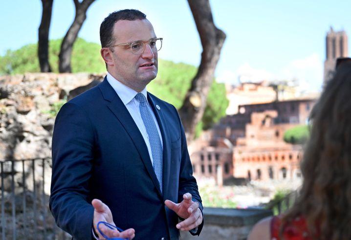 Minister Spahn in Rom