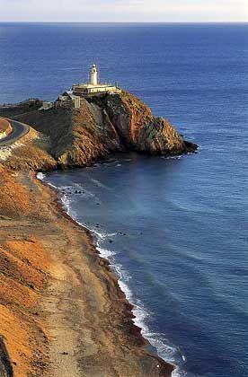 Leuchtturm am südlichsten Zipfel Spaniens: Touristen verirren sich selten ans Kap