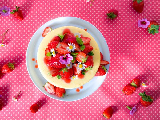Verena Lugerts Strawberry Cheesecake