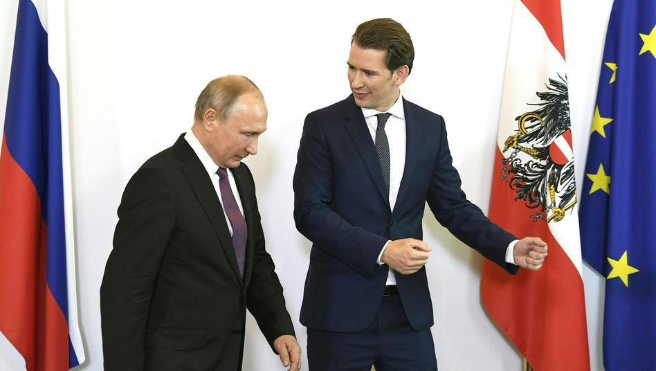 Wladimir Putin, Sebastian Kurz