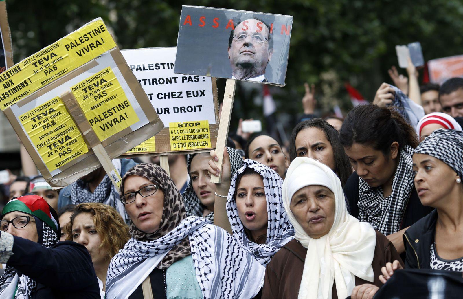 Frankreich / Anti-Israelische Proteste